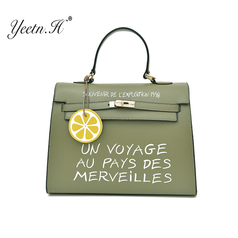 Yeetn.H Letter Women Luxury Handbags Bags Shoulder Bag Women Famous Brands High Quality  ...
