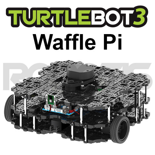 Robotis ros plataforma robô turtlebot 3 waffle pi