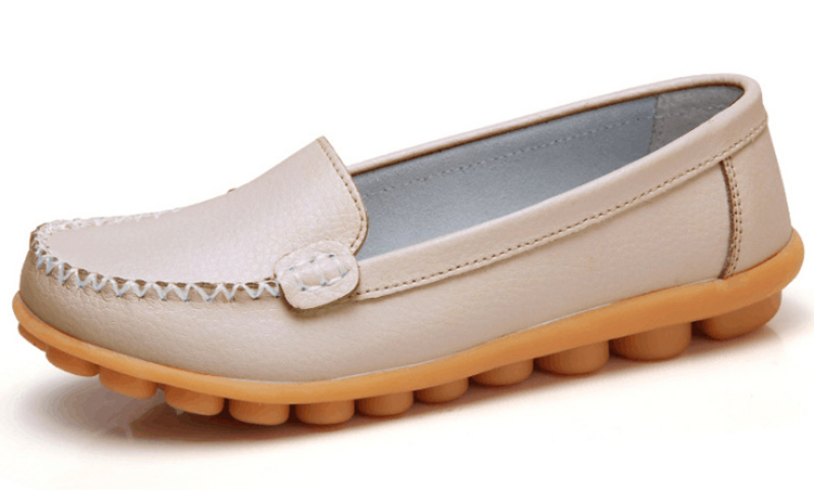 XY 918-2019 Genuine Leather Spring Autumn Women Loafers -5