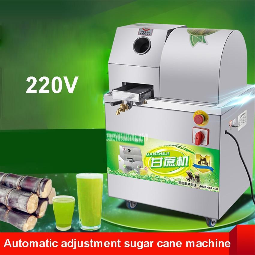 Automatic Adjustment Sugar Cane Machine SXC 80 Sugarcane Juicer Press Machine Juicer Extractor Juice Extractor Juicer 300kg / h