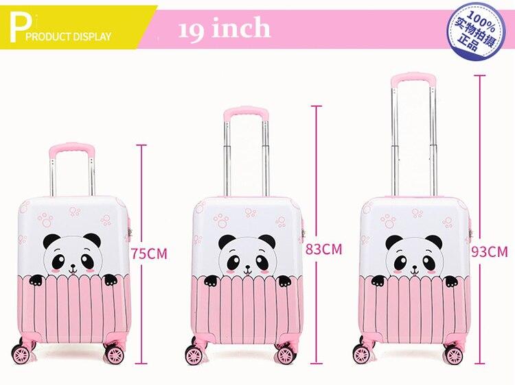 18 19 20 inchs mala panda rosa