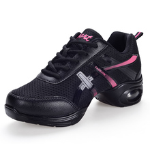 Fitness Breathable Teachers Latin Salsa Jazz Modern Dance Shoes Women Dancing Sneakers Ladies Aerobics Zapatos Danza