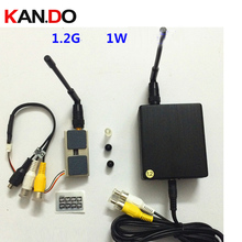 1W FPV transmitter for cctv made in Taiwan lawmate1 2G wireless transmitter receiver 1W 8 ch
