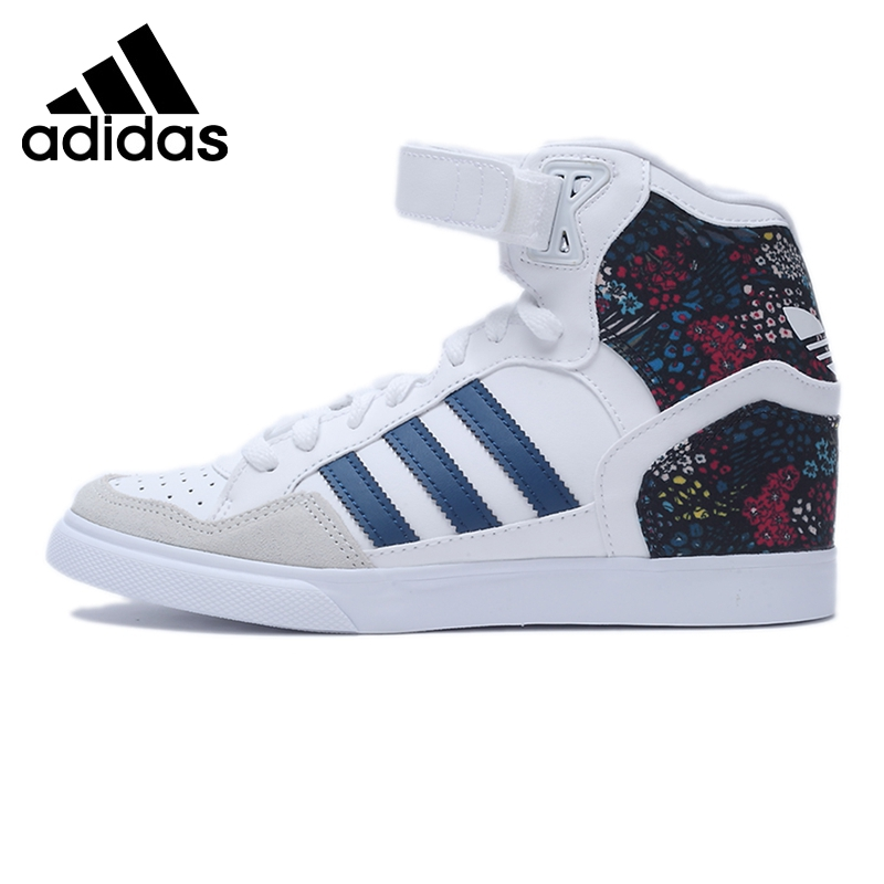 Original Adidas Originals Women's High Top Skateboarding Shoes Sneakers