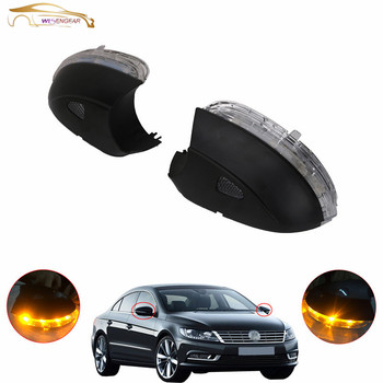 WISENGEAR 1 Pair Turn Signal Corner LED Light Lamp Door Rearview Mirror For VW Jetta MK6 PASSAT B7 CC BEETLE EOS SCIROCCO / Указатель поворота