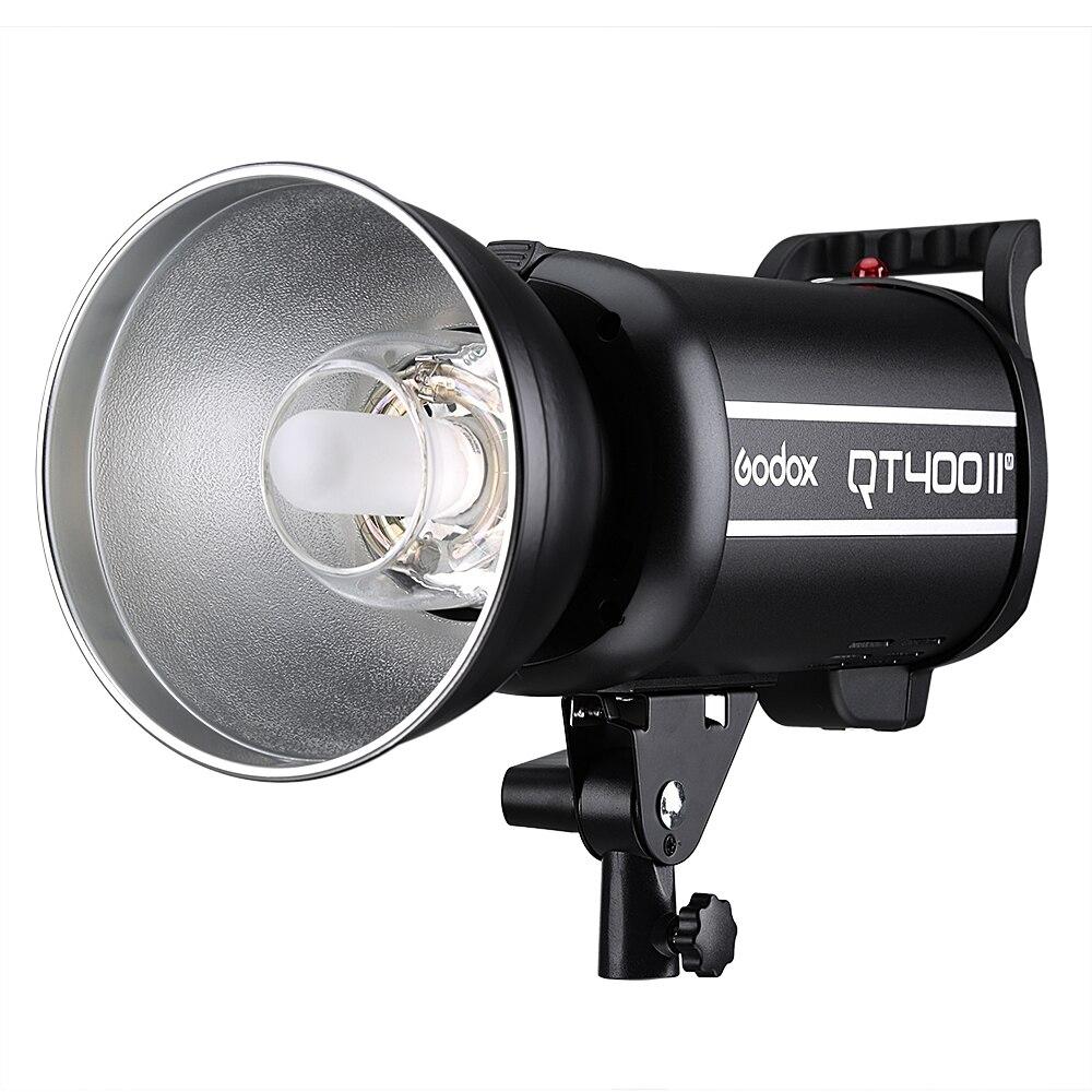 Professional Strobe Godox QT400II 400WS GN65 High Speed Sync 1/8000s Studio Flash Light Built-in 2.4G Wireless X system