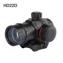Free Shipping Tactical Mini 1x22 Red & Green Dot pistol Sight Scope Airsoft Riflescope Hunting Scope for 20mm Rail