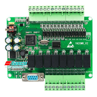 FX1N 20MR PLC Industrial Control Board Programmable Controller Online Monitoring High Speed Output