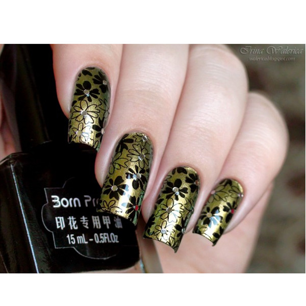 Born Pretty Black Nail Stamping Polish 15ml Newly Art Stamp Color 3 22322 In From Beauty Health On Aliexpress Alibaba