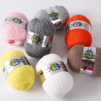 Top Quality 41colors Cashmere Hand Knitted Cashmere Yarn Wool Cashmere Knitting Yarn Ball Scarf Wool