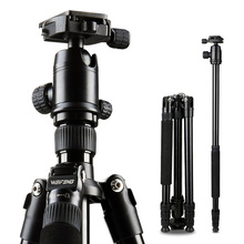 Tripod Weifeng WF-6620A WF 6620AAluminum Alloy Reflex Tripods The Portable Travel Photography Tripod For SLR DSLR Digital Camera
