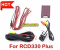 RCD330 PLUS AV REAR VIEW CAMERA For VW Golf 5 /6/7 JETTA Mk5 MK6 TIGUAN Passat B6 B7