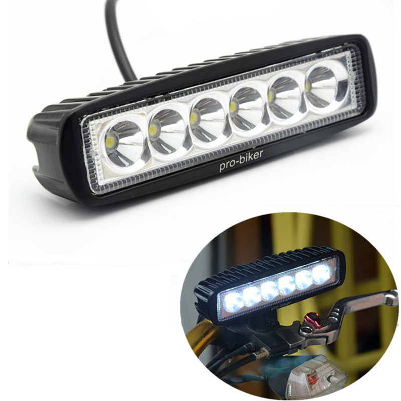 Home 12-80v Motorcycle Led Headlight Headlamp Motorbike Fog Spot Head Lights Universal For Pit Bike Dirt Bike Atv For Yamaha Honda