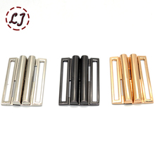 New high quality gold silver black cilp square metal belt buckles crafts decoration Buckles DIY garment sew accessory 2/4/5/6CM