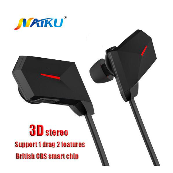 New Bluetooth Headset Wireless Earphone Headphone Bluetooth Earpiece Sport Running Stereo Earbuds With Microphone Auriculares wireless bluetooth earphone headphones s9 sport earpiece headset with tf card slot 8g auriculares with micro for iphone android