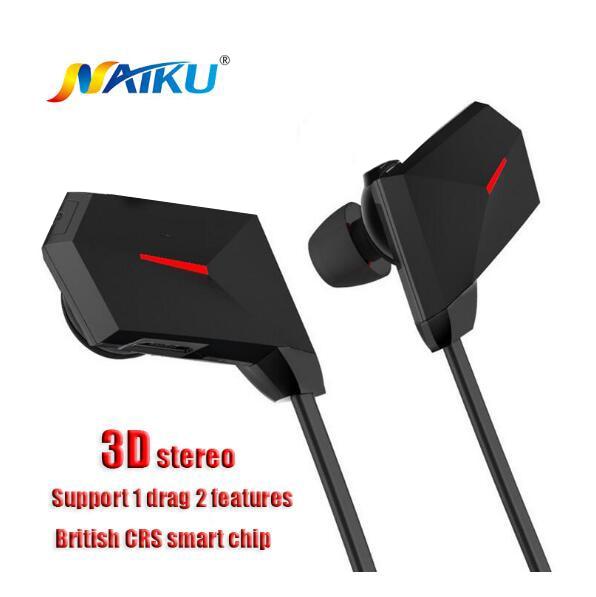 Nuevo Bluetooth Wireless Headset Auriculares Auriculares Auricular Bluetooth Dep