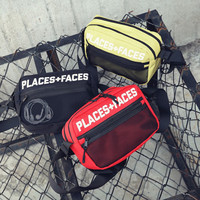 Fashion Chest Bags Men And Women Hip Hop Canvas Messenger Bag Casual Shoulder Bag Travel Crossbody