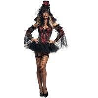 Vampire Costume for Women Gothic Halloween Costumes for Women Carnival Costume Fancy Dress