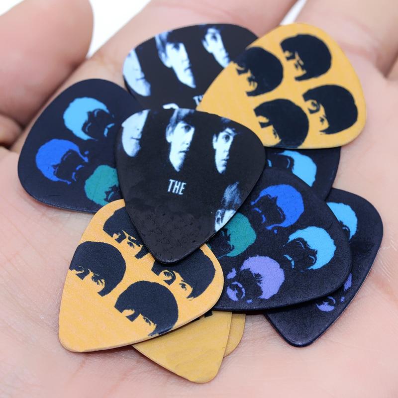 SOACH 10pcs/Lot 1.0mm thickness acoustic Guitar Picks pick guitarra strap ukulele & bass guitar parts Accessories
