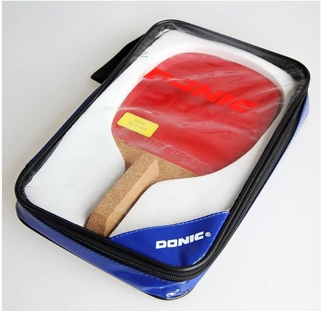 Special offer DONIC DON-600 Japanese cypress table tennis racket with free case donic baracuda