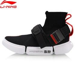 Li-Ning Uomini ESSENZA 2 FIBBIA UP Basket Scarpe Cultura Fodera li ning Scarpe Sportive Traspirante Scarpe da Ginnastica di Forma Fisica AGBP051 YXB316