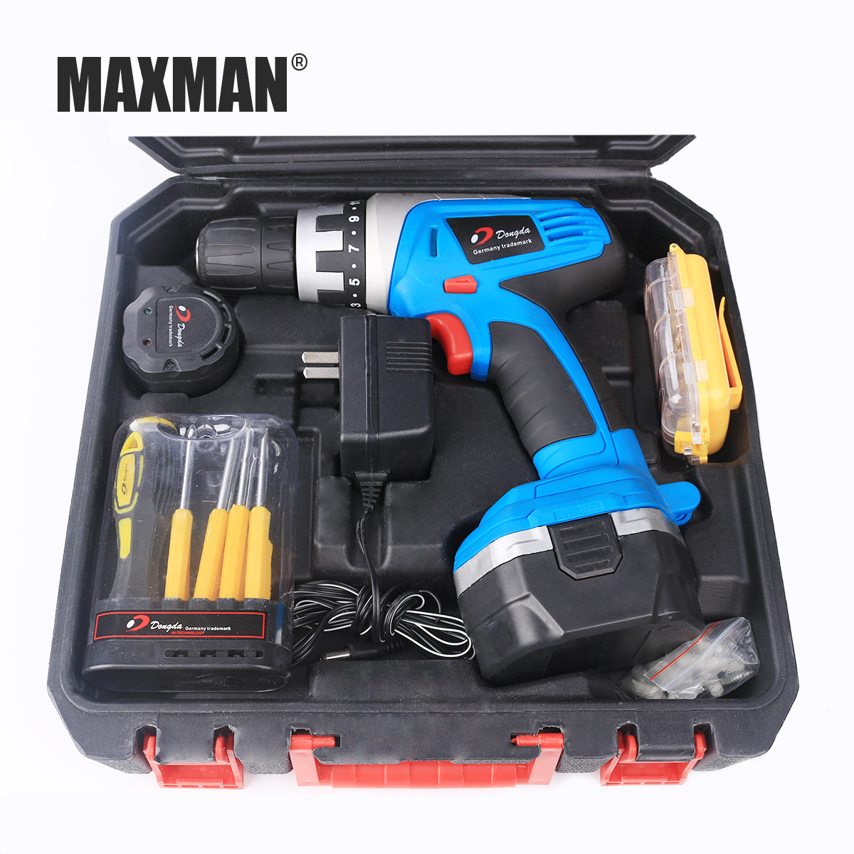 MAXMAN Electric Drill Household Power Tools 14.4V DC Lithium-Ion Battery Portable Charging Hand Mini Drill Wrench Tool Set hot sale kruk chair taburetes elephant stools for shoes designer furniture sofa animal personality fabric modern stool chair