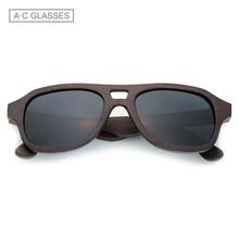 Sunyea Design Pilot Fashion wood Sunglasses Classic Bamboo Wooden Sunglasses Natural Men Women Wood glasses Eyewear Z16HM02
