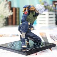 Anime Naruto Action Figures Hatake Kakashi Ver2 Japanese Anime Statue Figurine For Kids Collectible Toy 15cm