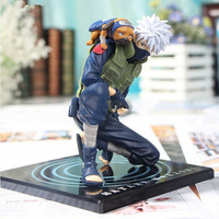 Anime Naruto Hatake Kakashi Ver2 Action Figures Japoński Anime Figurka Statua Kolekcjonerska Toy 15 cm Lalki Dla Dzieci