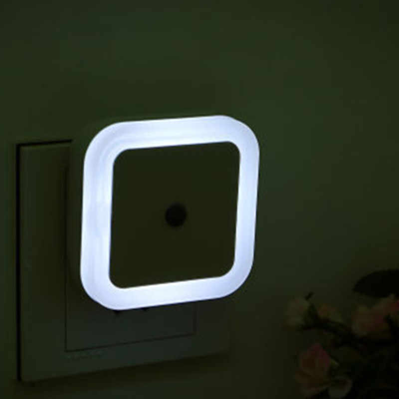 Светодиодный ночник мини-сенсор управления 110 V 220 V EU US Plug энергосберегающая лампа для гостиной спальни романтическое красочное освещение