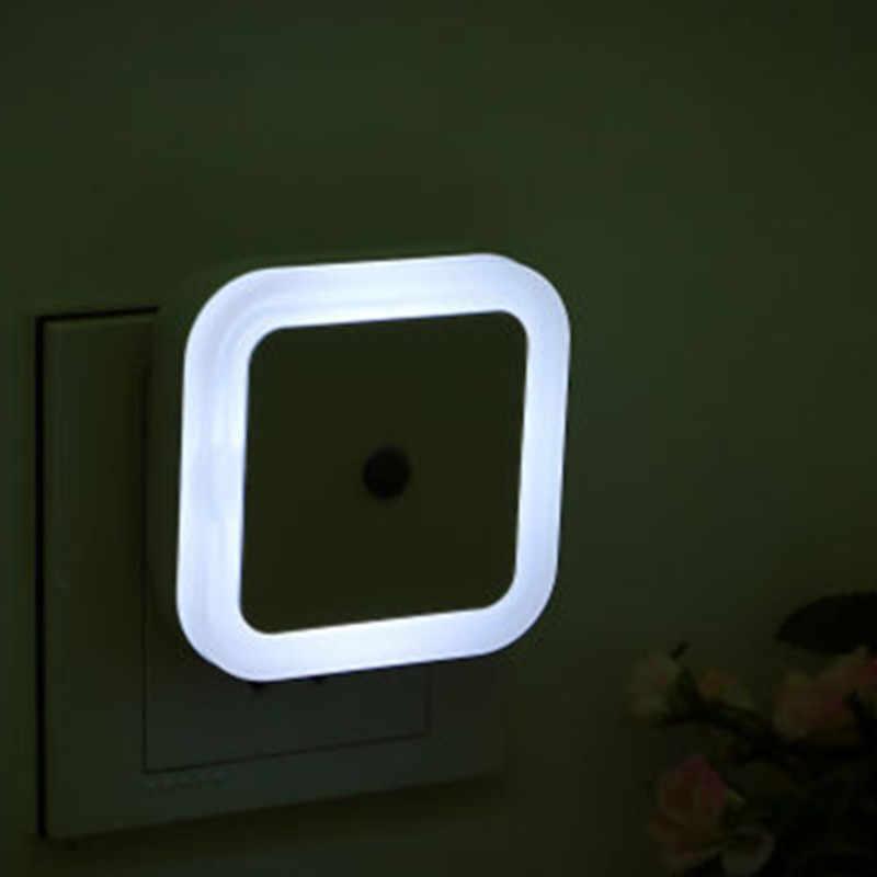 Светодиодный Светильник-ночник с мини-датчиком управления, 110 В, 220 В, штепсельная вилка европейского и американского стандарта, энергосберегающая лампа для гостиной, спальни, романтичный красочный светильник ing