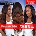 10A Spring Queen Hair Body Wave Brazilian Ombre Hair Extensions 1B 30 Two Tone Ombre Human Hair 4 Bundles Ombre Brazilian Hair