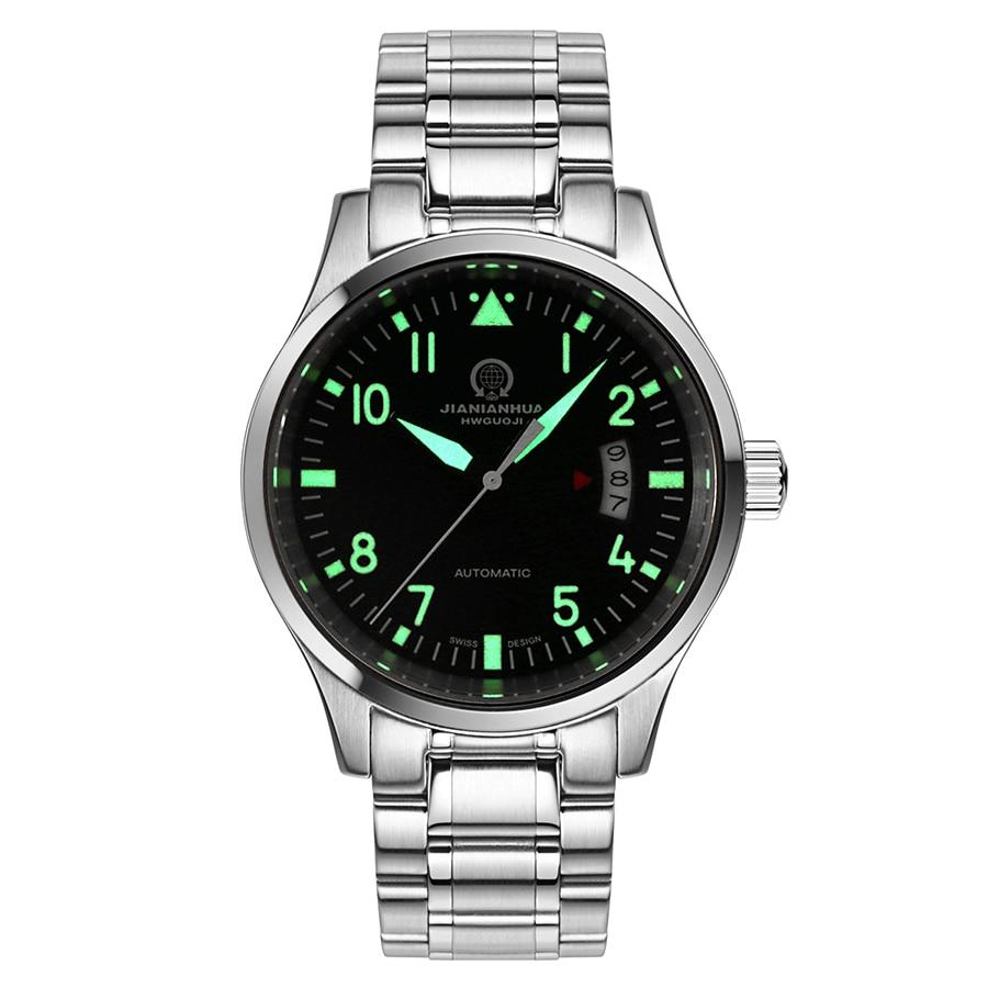 Top brand CARNIVAL Luxury Automatic Watch Men Calendar HD Luminous Sapphire 100m Waterproof Fashion Casual Mechanical watches цена 2017