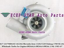 Free Ship K27 53279886441 53279706441 465366 Turbo For Mercedes Benz LKW Truck 1320 1520 Unimog 1700 NG LN2 85-07 OM366LA OM366A