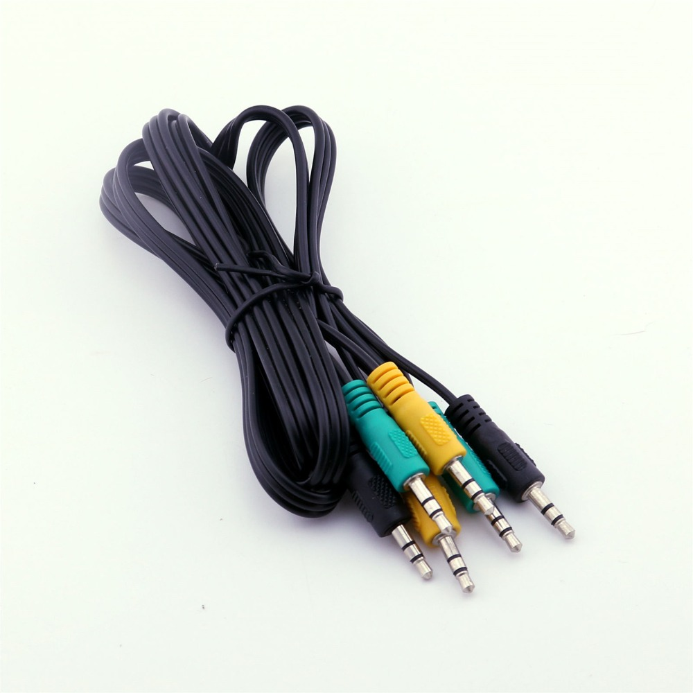 1pcs Replacement 3.5mm Male TRS Audio Cable for 5.1