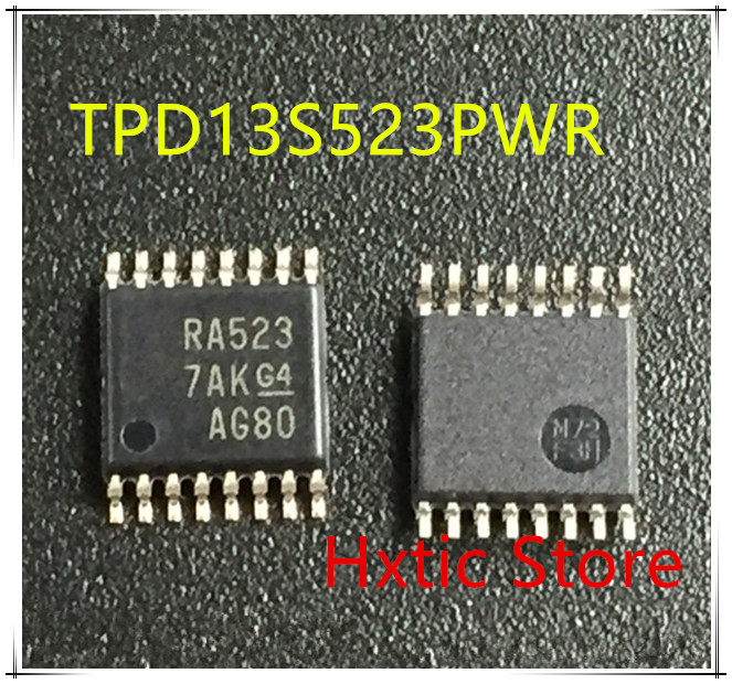 NEW 10PCS/LOT TPD13S523PWR TPD13S523PW TPD13S523 MARKING RA523 TSSOP-16 IC