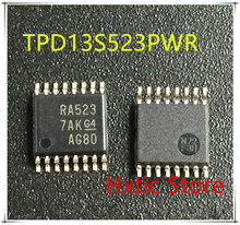 NEW 10PCS/LOT TPD13S523PWR TPD13S523PW TPD13S523 MARKING RA523 TSSOP-16 IC