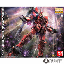 OHS Bandai MG 189 1/100 PF-78-3A Gundam Amazing Red Warrior Mobile Suit Assembly Model Kits
