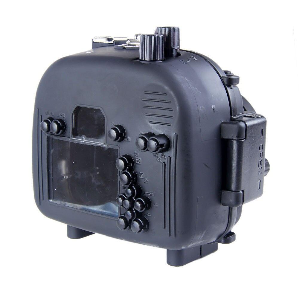 Waterproof Underwater Housing Camera Housing Case for canon 550D T2i Lens Meikon meikon бокс meikon для nikon j5 kit с объективом 10 30мм