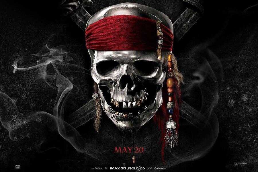 Diy Frame Pirates Of The Caribbean Fantasy Dark Horror