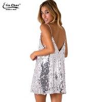 6924df150aa New Womens Black Long Sleeve Dress Eliacher Brand Casual Plus Size  sage-sequin-dress