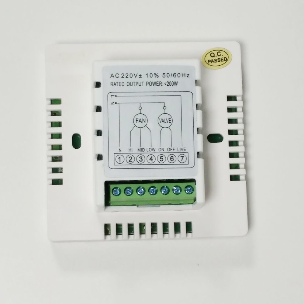 wifi thermostat central air conditioner fan coil fcu room thermostat rh aliexpress com