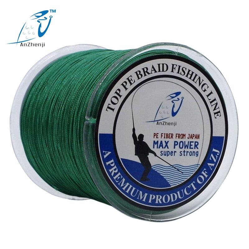 2016 AZJ New 300M 8 strands font b Fishing b font Line 8 Weaves font b