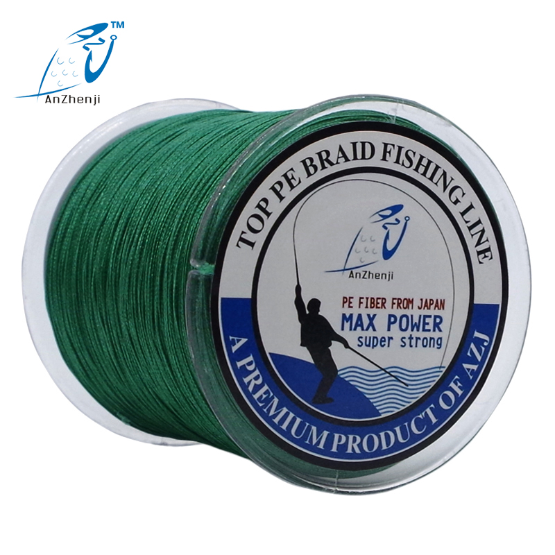 Nye 300M 8 tråde Fishing Line 8 Weaves FISHING Japan multifilament 8X PE flettet fiske linje tresse peche 8 fletning