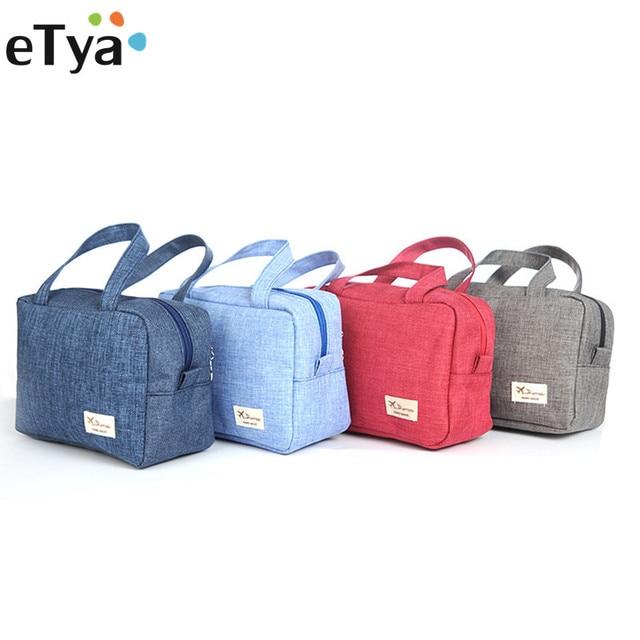 eTya Women Travel Cosmetic Bag for Make Up Makeup Bags Wash Handbag Case  Tote Toiletry Bag a53b163260ce3