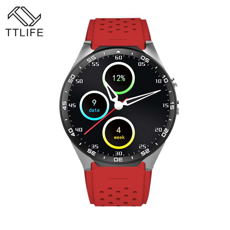 TTLIFE Brand 1 39 Inch Screen 2 0MP Camera font b Smartwatch b font 3G WIFI