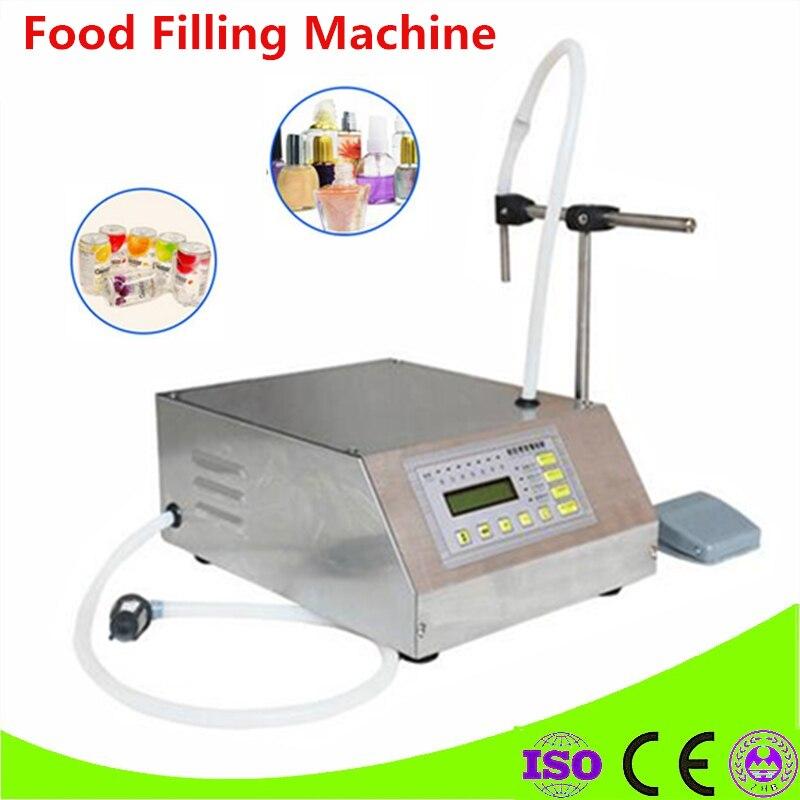 Best Sell Electrical Liquids Filling Machine Bottled Water Filler Beverage Foods Oils Bottling Equipment Tools Nail