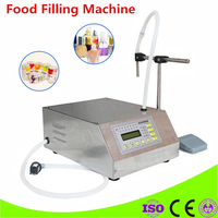Best Sell Electrical Liquids Filling Machine Bottled Water Filler Beverage Foods Oils Bottling Equipment Tools Nail