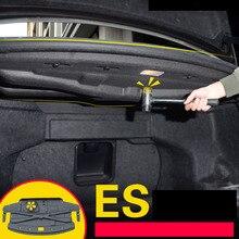 LSRTW2017 car trunk sound insulation cotton for lexus es es200 es250 es300h 2012 2013 2014 2015 2016 2017 2018 xv60
