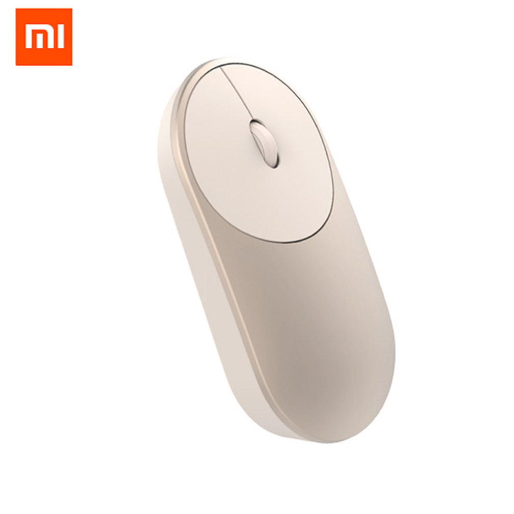 Xiaomi Mi Mini Wireless Mouse 2.4Ghz Wifi Bluetooth 4.0 For Windows 8 Win10 Laptop Computer Aluminium Alloy ABS Material